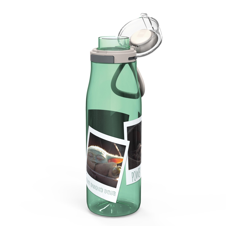 Star Wars: The Mandalorian 25 ounce Water Bottle, The Child, 3-piece set slideshow image 6