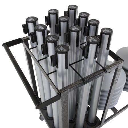 Statesman Cart Bundle - Silver Steel 10