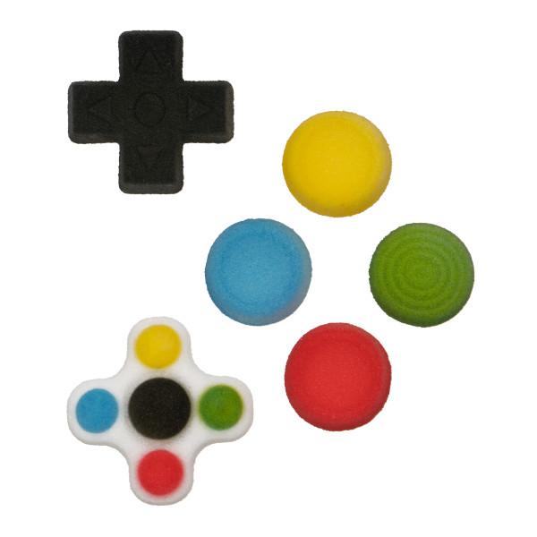 Gamer Buttons Assortment Dec-Ons® Decorations