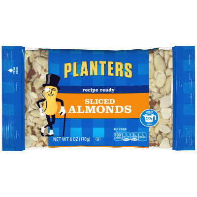 Planters Sliced Almonds 6 oz Bag