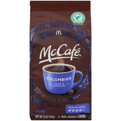 McCafé Colombian Ground Coffee, 12 oz Bag