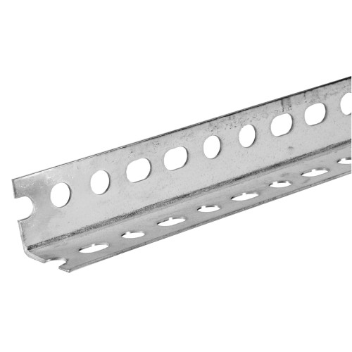 14-Gauge The SteelWorks Slotted Zinc Angle 1-1/2