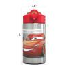 Cars 3 15.5 ounce Water Bottle, Lightning McQueen & Jackson Storm slideshow image 8