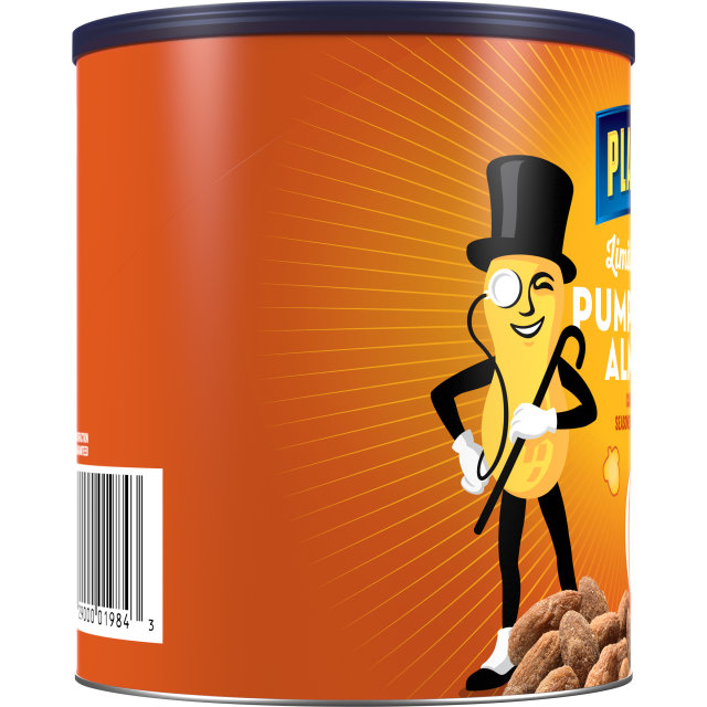 PLANTERS Pumkin Spice Almonds 15.25 oz Can