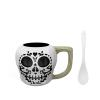 Halloween 15 ounce Coffee Mug and Spoon, Sugar Skull slideshow image 2