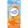 Crystal Light On-the-Go Classic Orange Drink Mix, 10 - 0.13 oz Packets