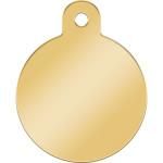 Gold Large Circle Quick-Tag