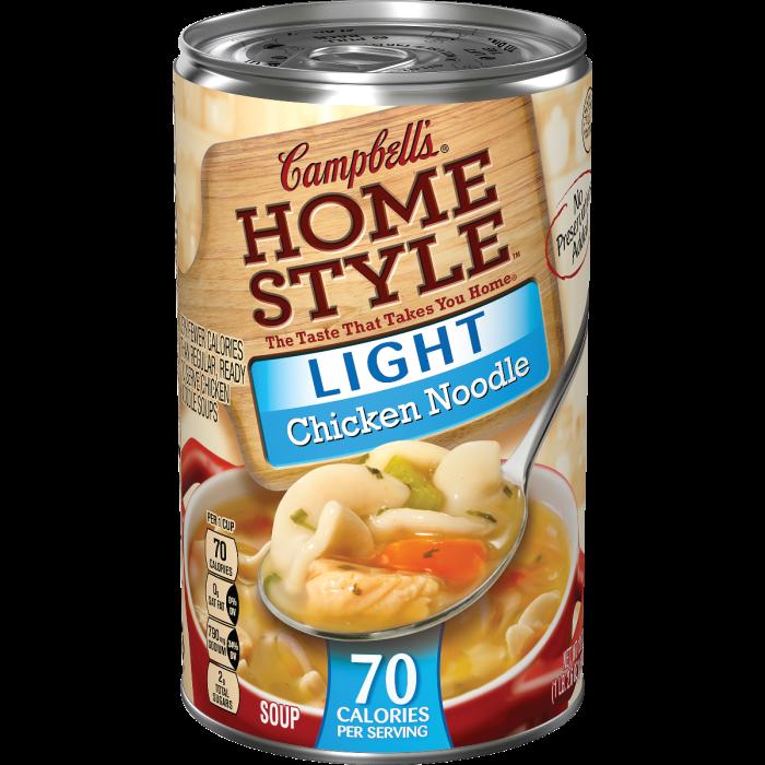 Light Chicken Noodle Soup