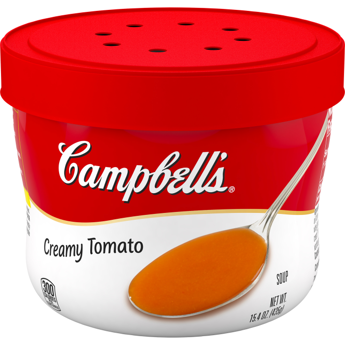 Creamy Tomato Soup Microwavable Bowl