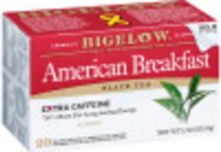 American Breakfast Black Tea - Case of 6 boxes - total of 120 teabags