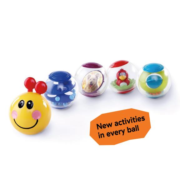 Roller-pillar Activity Balls™ Toy