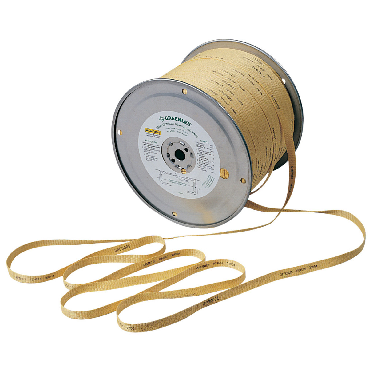 Greenlee 39245 Tape Measuring-2500# (Polyaramid)