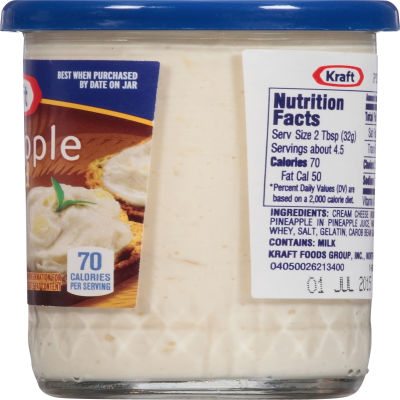 Kraft Pineapple Spread 5 oz Jar