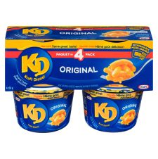 Kraft Dinner Original Macaroni & Cheese Snack Cups