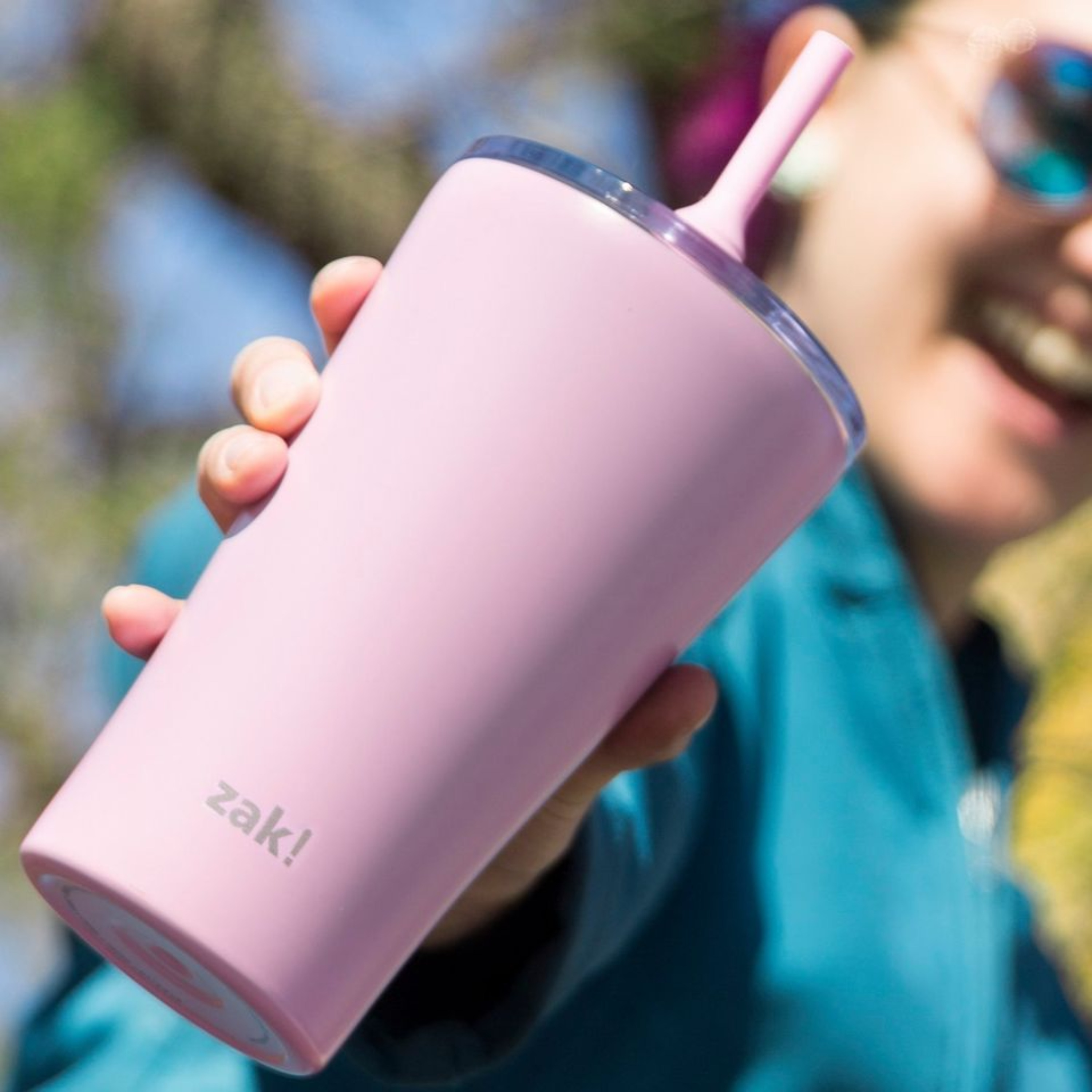 Alfalfa 20 ounce Vacuum Insulated Stainless Steel Tumbler, Lilac slideshow image 4