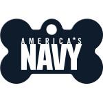 Navy Small Bone Quick-Tag