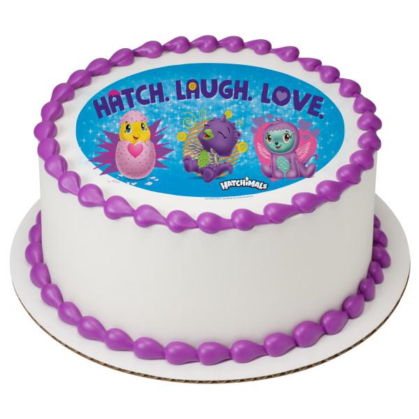 Hatchimals™ Hatch.Laugh.Love PhotoCake® Edible Image®