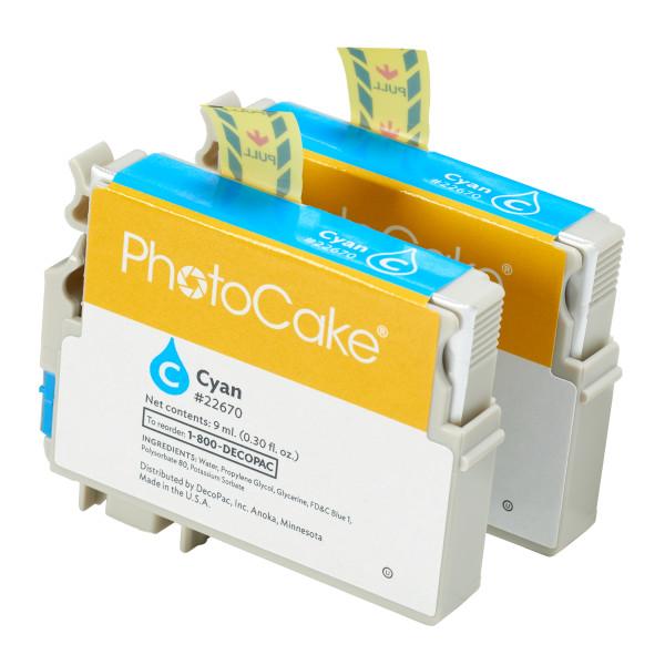 XP340, XP430, XP440 and XP446 Cartridge-Cyan PhotoCake® Ink