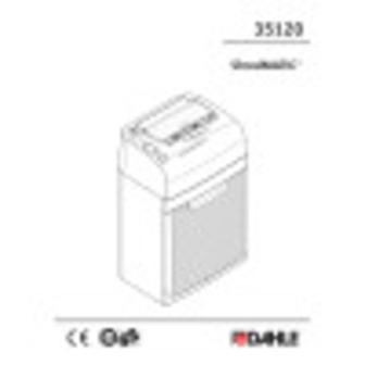 Dahle ShredMATIC® 35120 Shredder User Guide