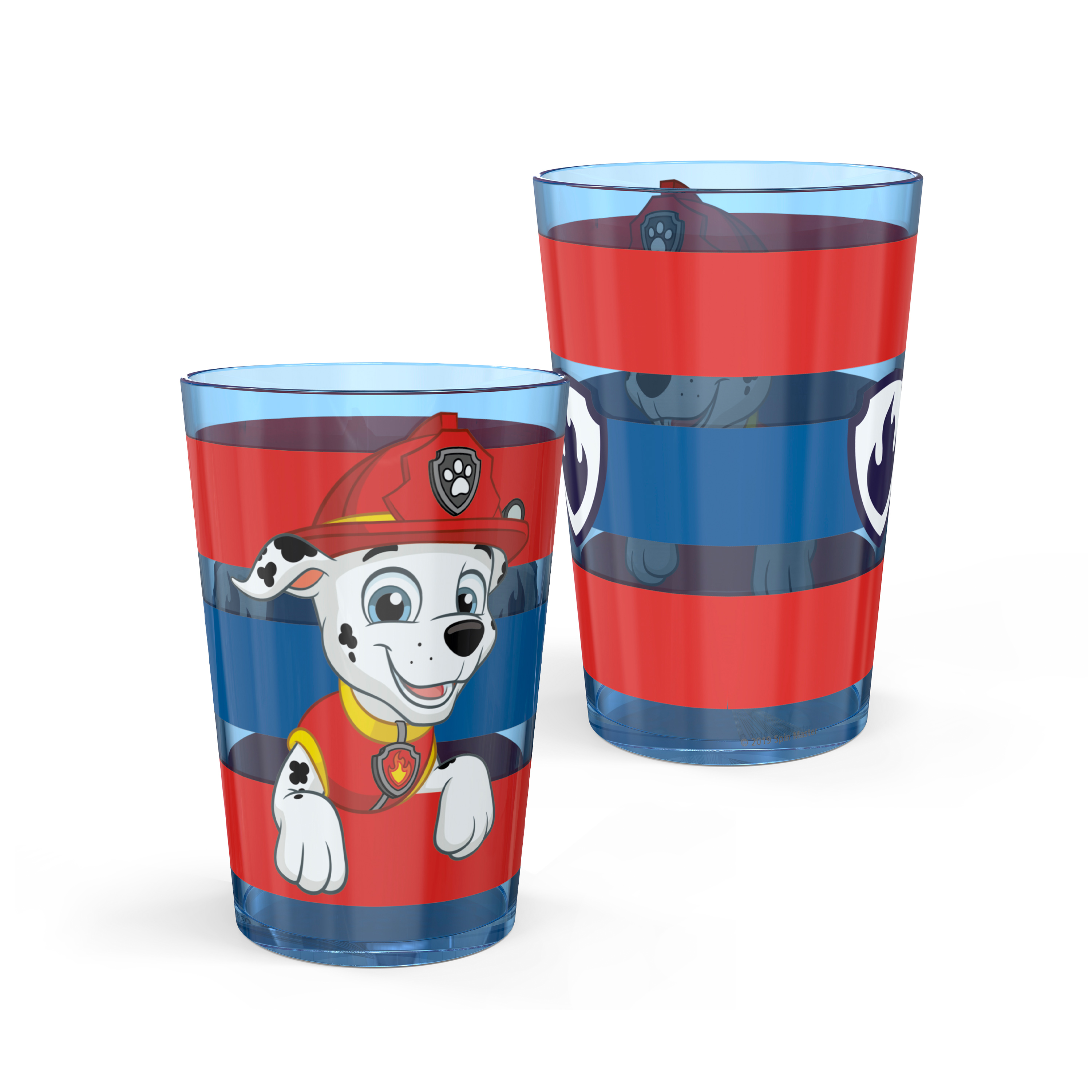 Paw Patrol 14.5 ounce Tumbler, Chase, Skye and Friends, 4-piece set slideshow image 8
