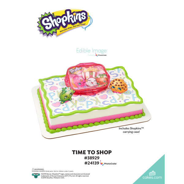 Shopkins™ Time to Shop DecoSet® The Magic of Cakes® Page