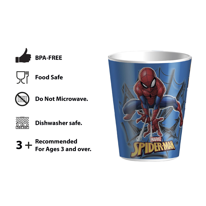 Marvel Kid's Dinnerware Set, Spider-Man, 3-piece set slideshow image 8