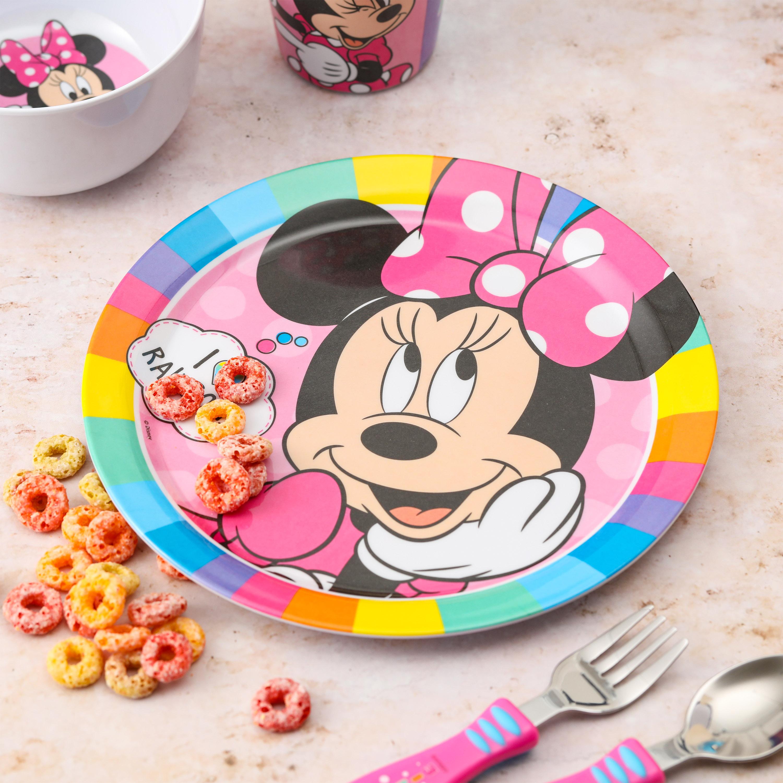 Disney Kid's Dinnerware Set, Minnie Mouse, 3-piece set slideshow image 4