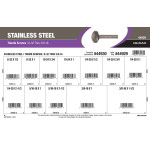 "Stainless Steel Thumb Screws Assortment (#8-32 thru 3/8""-16)"