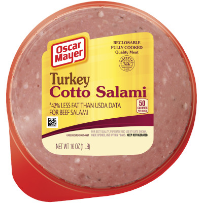 Oscar Mayer Turkey Cotto Salami 16 oz
