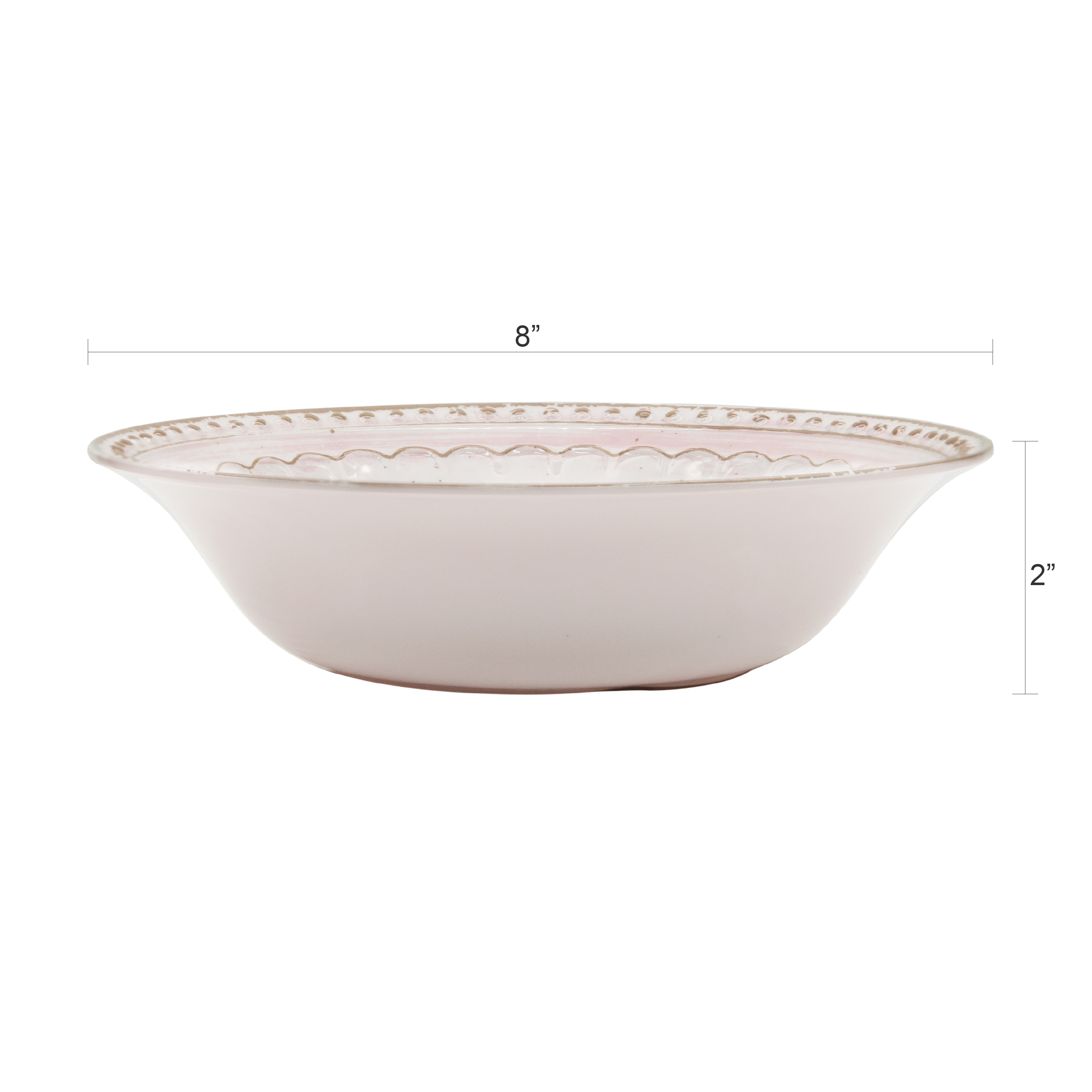 French Country Plate & Bowl Sets, Pink, 12-piece set slideshow image 7