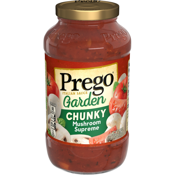Chunky Garden Mushroom Supreme Italian Sauce