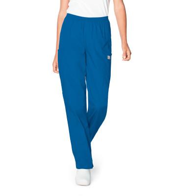 Landau Scrub Zone 3 Pocket Scrub Pants for Women: Classic Relaxed Fit, Durable, Elastic Waist, Straight Leg 83221-