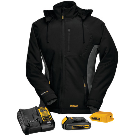 DEWALT® Women's Heated Soft Shell Coat Kitted