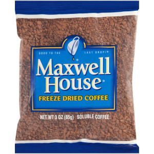 MAXWELL HOUSE Freeze-Dried Coffee, 3 oz. Bag (Pack of 32) image