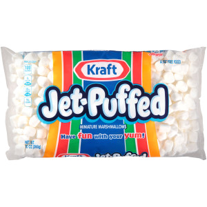 JET-PUFFED Mini Marshmallows, 10 oz. Bag (Pack of 24) image