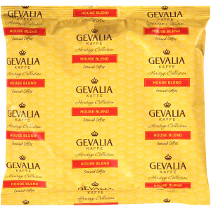 GEVALIA House Blend Coffee, 8 oz. Bag (Pack of 20) image