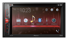 "Pioneer AVH-220EX Multimedia DVD Receiver -6.2"" WVGA Clear Display"