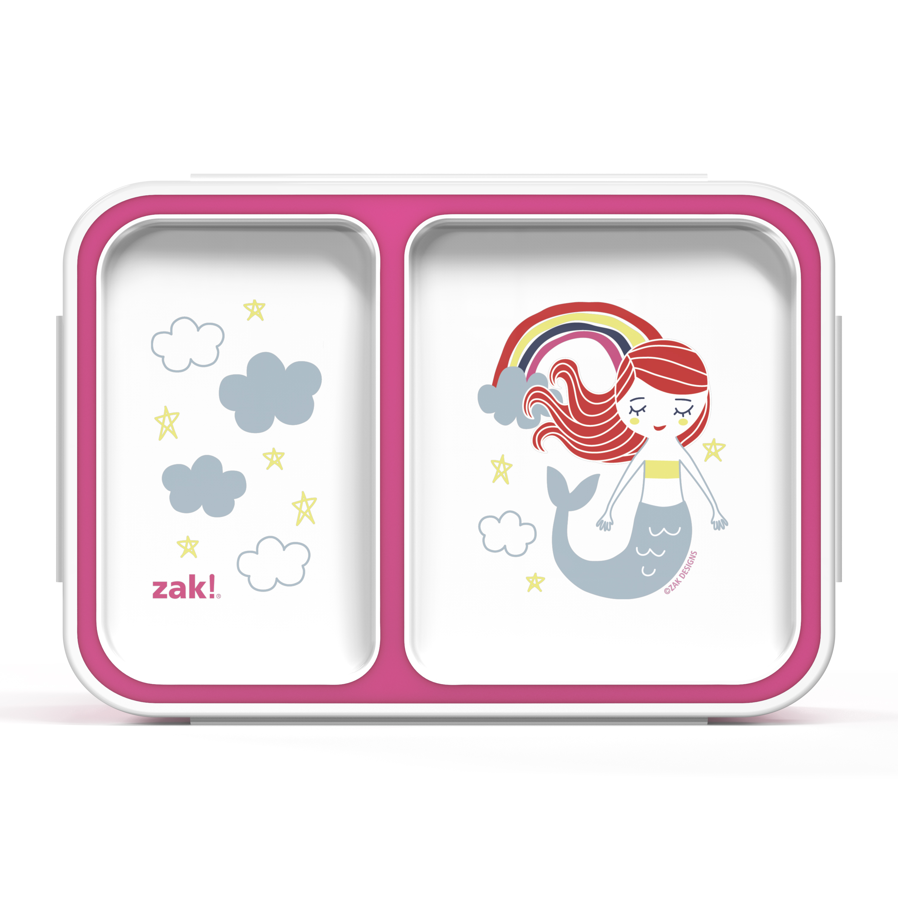 Happy Things Dual-compartment Reusable Bento Box, Mermaids slideshow image 2