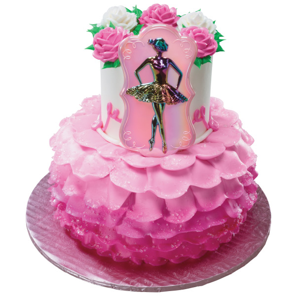 how cut a wedding cake ballet dancer layon decopac 15362