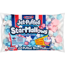 Kraft Jet-Puffed StarMallows Vanilla Marshmallows 8 oz Wrapper
