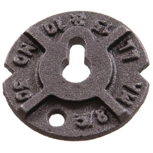 Plain Steel Malleable Washers 3/8