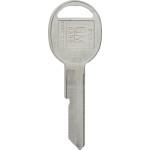 GM Brass Auto Key Blank B-51