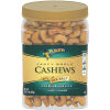 Planters Fancy Whole Cashews With Sea Salt 33 oz Jar