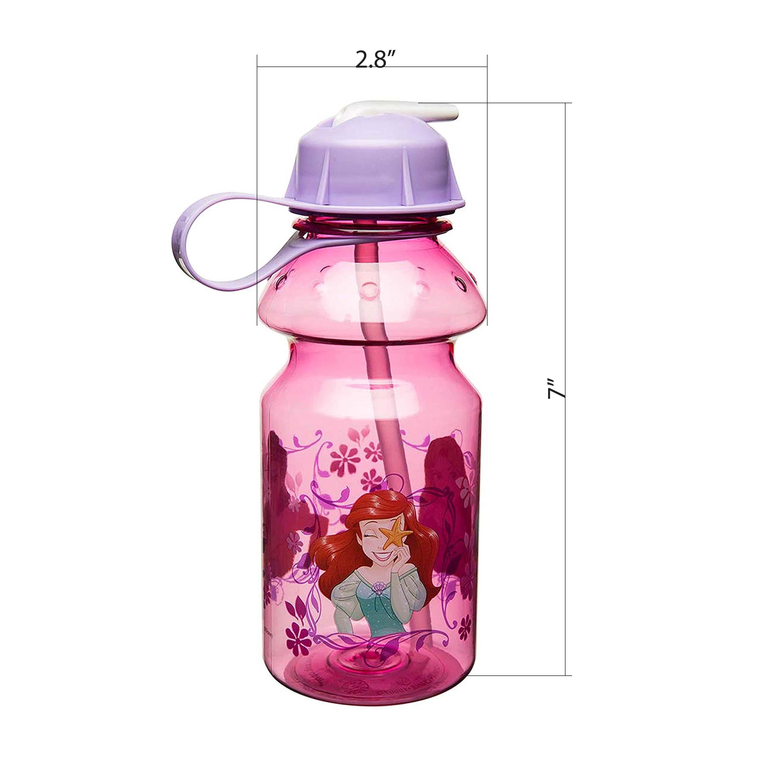 Disney 14 ounce Water Bottle, Belle & Ariel slideshow image 6