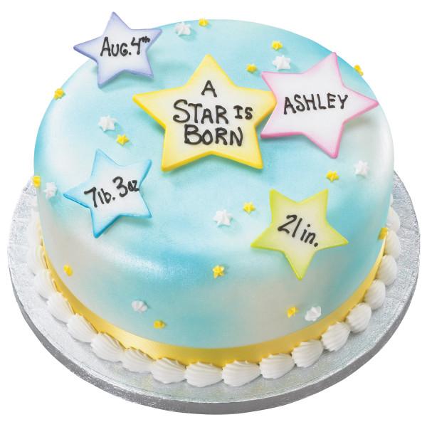 Stars Gum Paste Layon