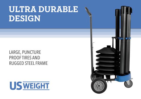 Rover Cart Bundle - Black Steel with black belts 3