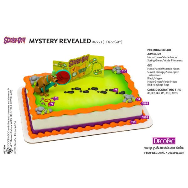 Scooby-Doo!™ Mystery Revealed Cake Decorating Instruction Card