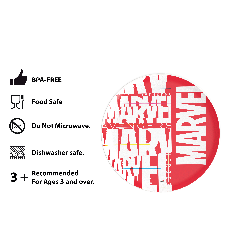Marvel Comics Dinnerware Set, Black Widow, 2-piece set slideshow image 9