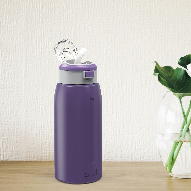 Genesis 32 ounce Stainless Steel Water Bottles, Viola slideshow image 3