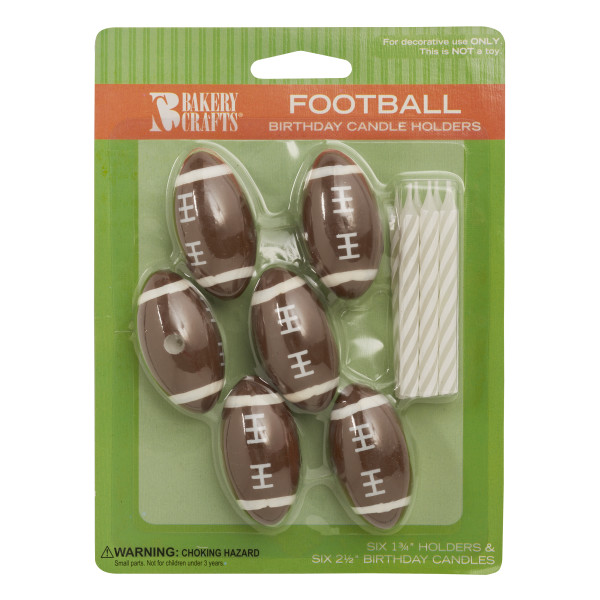 Football Candle Holder